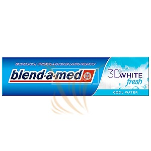 Blend-a-med 3D White Fresh Cool Water 100 ml