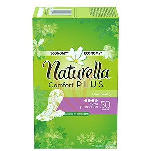 Naturella Comfort Plus Camomile - Extra protection 50 buc
