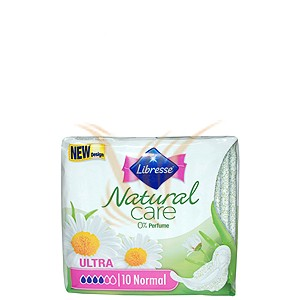 Libresse Natural Care Ultra - Normal 10 buc