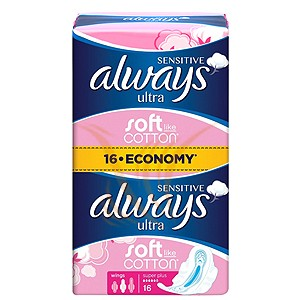 Always Ultra Sensitive - Super Plus 16 buc