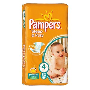 Pampers Sleep & Play 4 50 buc