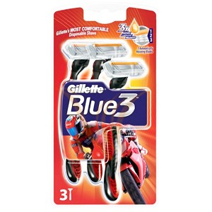 Gillette Blue3 RED 3 buc