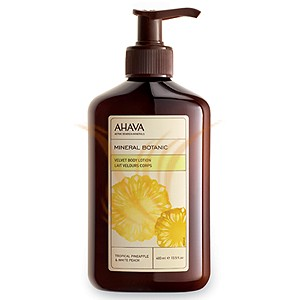 Ahava Mineral Botanic - Tropical Pineapple & White Peach 400 ml