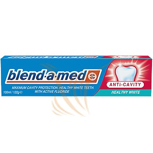 Blend-a-med Anti Cavity Healthy White 100 ml