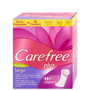 Carefree Large - Fresh 48 buc