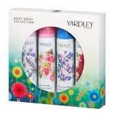 Yardley Body Spray Collection