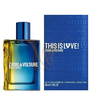 Zadig & Voltaire This Is Love! For Him 50 ml